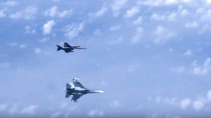 NATO Says Russian Su-27 Escort Jets Had No Flight Plans, Turned Off Transponders