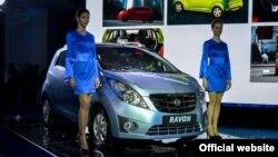 Презентация автомобиля марки Ravon, произведенного узбекско-американским СП GM Uzbekistan.