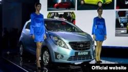 Презентация автомобилей марки Ravon.