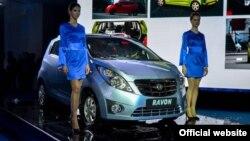 Өзбекстандык Ravon автоунаасы.