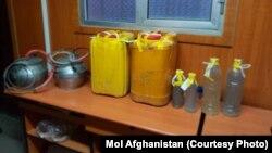 آرشیف، یک کارخانه کوچک تولید مواد مخدر در افغانستان