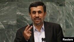 Ахмадинежад Башкы ассамблеяда. 26-сентябрь, 2012-жыл.