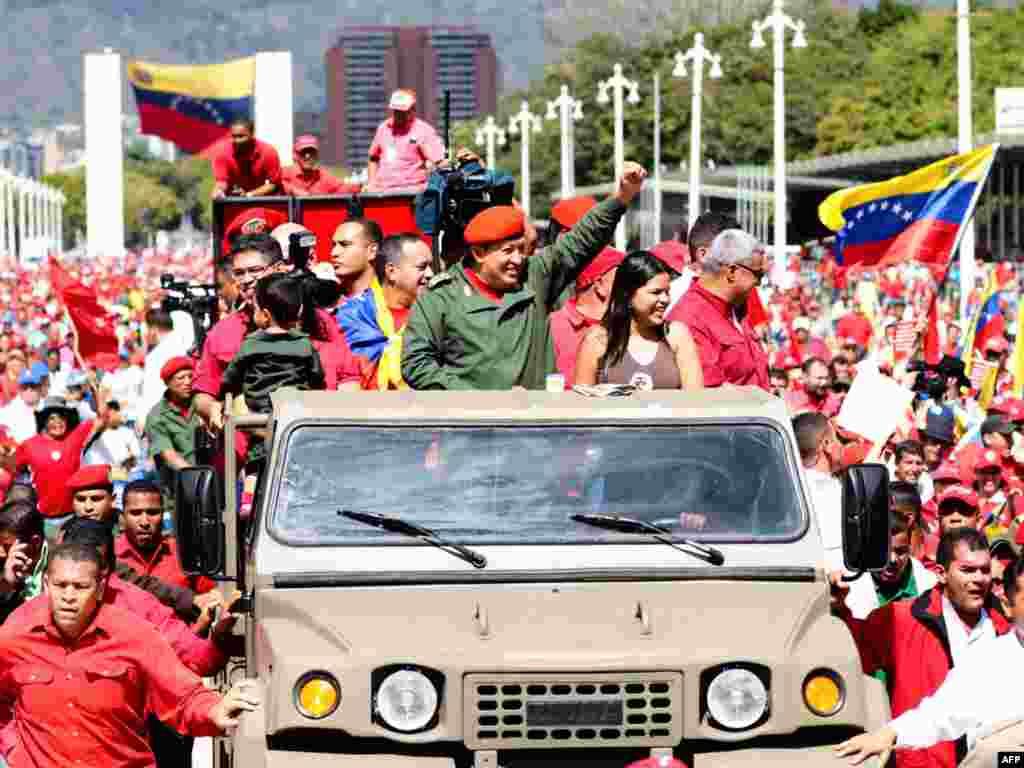 Вэнэсуэла: прэзыдэнт Уга Чавэс