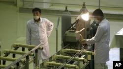 Ядерный объект вблизи города Исфахан, где ведутся работы по обогащению урана