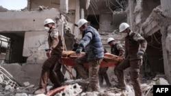 The White Helmets have been working to rescue civilians in rebel-held areas of Syria since 2013. (file photo)