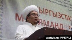 Кыргызстан муфтийи Рахматулла ажы Эгембердиев. Бишкек ш., 2012-жылдын 15-декабры.