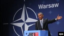 بارک اوباما رئیس جمهور ایالات متحدۀ امریکا