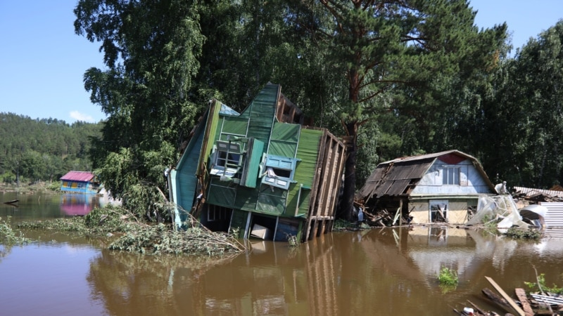 Death Toll From Siberia Floods Rises To 25, 11 Missing