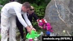 Алесь Пашкевіч і Ірына Быкава