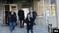 """Премиерот Зоран Заев пред Основниот суд Скопје 1 на едно од рочиштата за случајот """"Поткуп"""""""