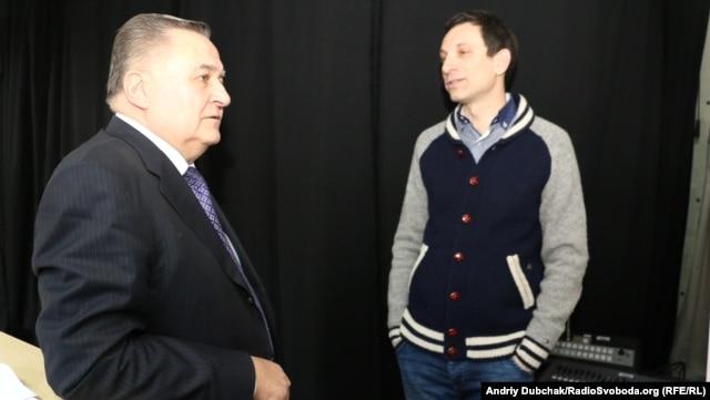 Евгений Марчук и Виталий Портников