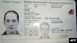 Samantha Lewthwaite-nin saxta pasportu - 2011