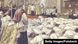 Исключение составляет только католическая церковь. Следствие ли это зрелости демократических европейских институтов или просто результат политической апатии населения?