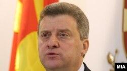 Претседателот Ѓорге Иванов.