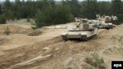 Учения с участием американских военных в Латвии