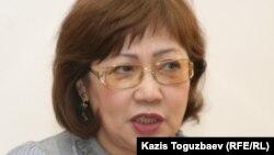 """Розлана Таукина, руководитель прессозащитной организации """"Журналисты в беде"""". Алматы, 11 января 2011 года"""