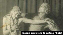 Галина Лерхе на сцене Большого театра