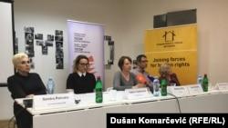 Sandra Petrušić, Tatjana Vojtehovski, Antonela Riha i Nikola Radišić, Beograd 31. januar 2018.