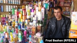 Hamid, a Kabul shopkeeper