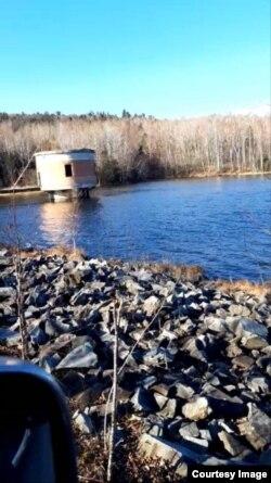 Возле этого водохранилища было найдено тело убитого Николая