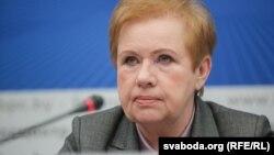 Старшыня Цэнтравыбаркаму Беларусі Лідзія Ярмошына