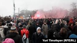 Митинг на Болотной площади в Москве, декабрь 2011