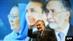 Кандидат в президенты Афганистана Залмай Расул.