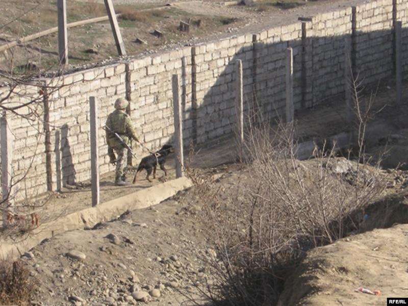 Frontière avec l'Ouzbékistan