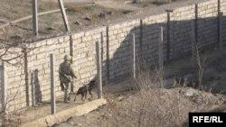 На границе с Узбекистаном.