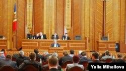 Заседает парламент Республики Молдова