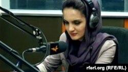 مروه امینی سخنگوی بنیاد انتخابات آزاد و عادلانه افغانستان یا فیفا