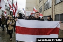 Учасники маршу «Чорнобильський шлях». Мінськ, 26 квітня 2017 року