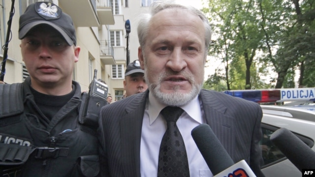 Akhmed Zakayev was detained by police in Warsaw on September 17.