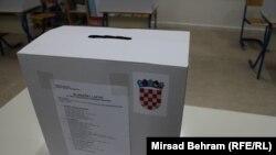 Građani Mostara hrvatske nacionalnosti glasaju na izborima za predsednika Hrvatske