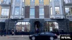 «Діамантбанк» на Андріївському узвозі у Києві
