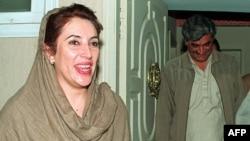 Pakistanska političarka, Benazir Bhutto, 1998.