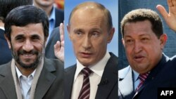 وال استريت ژورنال مى گوید: نفت عامل قدرت اين سه نفر بود و اكنون مى تواند دليل پايان قدرت آنها باشد. (عکس: AFP)