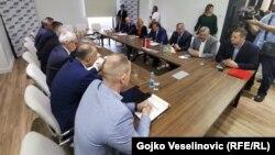Sastanak DNS-a i SNSD-a na čelu sa Miloradom Dodikom u oktobru, ilustrativna fotografija