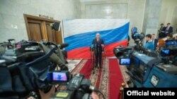 Игорь Додон в Москве