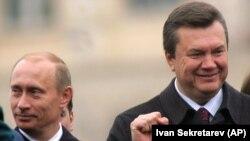 Октябрь 2008 года. Накануне президентских выборов в Киев поддержать тогдашнего премьер-министра Виктора Януковича приехал президент России Владимир Путин
