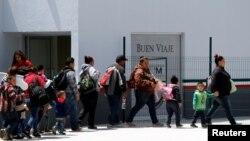 Migranti pristižu u Tihuanu