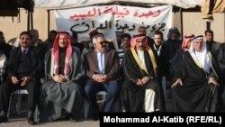 جانب من مؤتمر عشيرة العبيد في الموصل