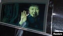 Пак Кын Хе после отставки