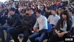 Казахстанские студенты.