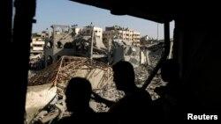نوار غزه. دوم اوت ۲۰۱۴