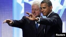 Билл Клинтон и Барак Обама
