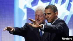 Bill Clinton i Barack Obama, septembar 2011.