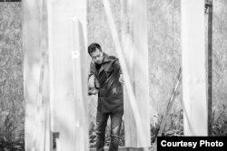 Пасьля 70 год існаваньня Беларускай каталіцкай місіі ў Лёндане будоўля царквы пачалася толькі ў 2016 годзе. Photo by Sasha Belavokaya