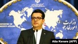 Abbas Mousavi, spokesman for Iranian Foreign Ministry. FILE PHOTO