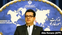 Abbas Mousavi, spokesman for Iranian Foreign Ministry. FILE PHOTO